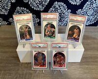 1989 Hoops 5 Card Lot Michael Jordan 🔥#200 PSA 10 Investment Lot 🏀💎🔥