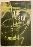 SIGNED BY RACHEL CARSON- THE SEA AROUND US - 1st Edition RARE Autographed! First