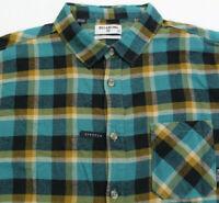 Billabong Freemont Men's Flannel Shirt XL Plaid