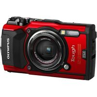Olympus Tough TG-5 Digital Camera 12MP (Red)