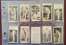 Vintage 1926 FULL SET  English Cricketers Series of 25 - RARE NZ ISSUE