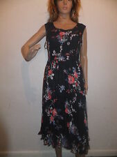 Per Una Floral Regular Size Sleeveless Dresses for Women