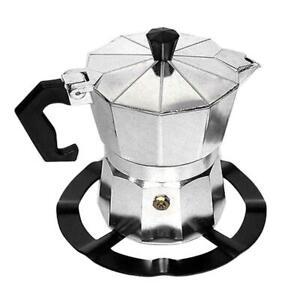 1x Moka Pot Stove Stand Coffee Pot Holder Gas Range Support Ring Gas Hob Rack