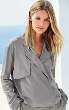 BNWT* NEXT* Size 14  Grey Short Trench Tailoring Jacket, Light, Sleeved top, £40