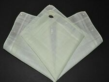 vintage handkerchief Hankie light green Shabby Home Chic scent it Orig Sticker