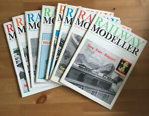 RAILWAY MODELLER MAGAZINE 1966 - 8 ISSUES