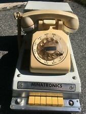 """""""Vintage"""" Minatronics Answering Machine With Telephone Early 1960's"""