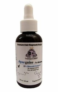 Aquagaine for Women: Minoxidil Enhanced No Alcohol/No PG for hair loss/regrowth