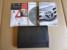 TOYOTA LAND CRUISER 150 PRADO 2015-2019 HANDBOOK OWNERS MANUAL SERVICE BOOK NAVI