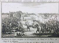 Massacre du Champs de Mars 1791 Rare Gravure de la Révolution Française