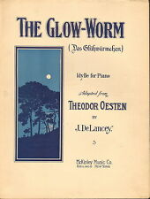 The Glow-Worm by Oesten and DeLancey - Sheet Music -1909