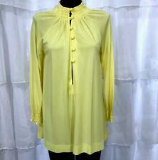 SMALL - Vintage 60s COLE OF CALIFORNIA Sunny Yellow Coverup Swim Tunic Dress