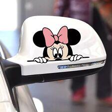 Minnie Mouse Pegatina de Coche Pared Adhesivo Pegatina Calcomanía Ventana