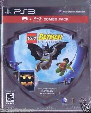 LEGO Batman: The Videogame (Sony PS3, 2008) + Batman DVD  Factory Sealed