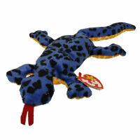 TY Beanie Baby - LIZZY the Lizard (13 inch) - MWMTs Stuffed Animal Toy