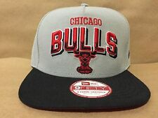 b8f533ef9499b New Era 9fifty Chicago Bulls grado bloque Snapback gray red black OSFA  Nuevo Con Etiquetas