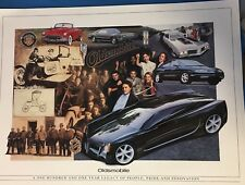 OLDSMOBILE POSTER PRINT 101 Year Legacy People Pride Innovation 1998 Andy Hanzel