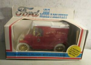 ERTL 1913 FORD MODEL T DELIVERY THE TOY FARMER BANK TRUCK MINT IN BOX