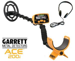 Garrett Ace 200i Metalldetektor Schatzsuche Sondeln Metalldetektor Suchgerät