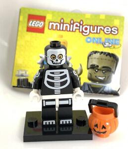 LEGO Skeleton Guy Minifigure - Series 14 - CMF - Halloween - New - Cobra Kai