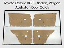 Toyota COROLLA KE70 Sedan Wagon Door Cards Blank Trim Panels