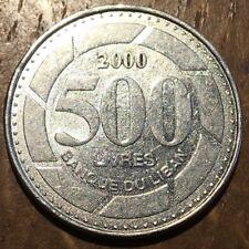 PIECE DE 500 LIVRES DU LIBAN 2000 (341)