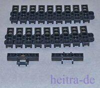 LEGO Technik - 20 x Kettenglied breit schwarz / Black Link Tread / 3873 NEUWARE