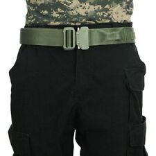 "Fusion Tactical Police Riggers Gun Belt Gen II Type A, Medium 33-38""x1.5"" Green"