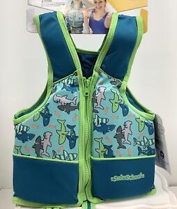 SwimSchool Boys Swim Trainer Vest, 33- 55 lbs., 22 in chest, Blue, Medium/Large