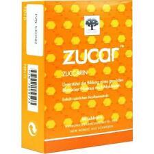 ZUCAR Zuccarin Tabletten 60 St