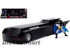 Jada 1:24 Animated Series Batmobile with Batman Figure DC 30916 Movie Diecast