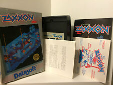 Zaxxon for Atari Cassette 16K -  CIB/OVP
