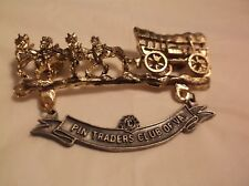 CR36) Virginia Pin Trader Four Horse Confederate Wagon Lions Club Pin