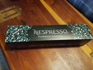 Nespresso Vertuoline PEPPERMINT PINWHEEL Limited Edition Coffee 1 Sleeve 10 pods