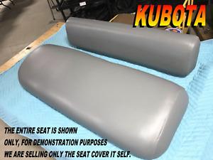 Kubota RTV 900 utv New seat cover 2004-05 RTV900 Diesel gray 867A