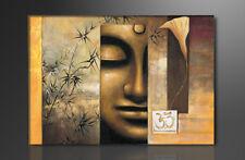 Bilder auf Leinwand Buddha 120cm XXL 1 5157 + Alle Wandbilder fertig gerahmt