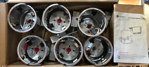 (CASE OF 6) 6-INCH REMODEL CAN AIR TIGHT IC UL RECESSED HOUSING LED POT LIGHTING