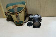 Yashica FX-2 vintage camera with Tamron 28-200mm f3.8-5.6 Aspherical lens