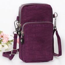 UK Cross-body Mobile Phone Shoulder Bag Pouch Case Belt Handbag Purse Wallet UK