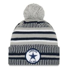 DALLAS COWBOYS 2019 NFL NEW ERA OFFICIAL SIDELINE HOME SPORTS KNIT BEANIE HAT