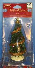 Lemax Village Accessories Trees Sparkling Green Christmas Tree Medium 2000 04493