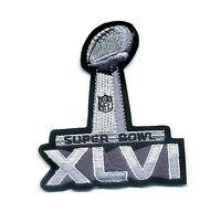 NFL SUPER BOWL XLVI SB 46 New York Giants/Patriots SUPER BOWL XLVI JERSEY PATCH