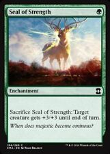 Seal of Strength   x4   - NM - Eternal Masters MTG Magic Card Green Common