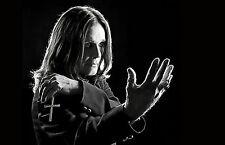 Framed Print - Ozzy Osbourne (Picture Black Sabbath Heavy Metal Music Art Bat)