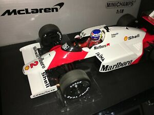 1:18 MINICHAMPS #530861802 Keke Rosberg Mclaren MP4/2C 1986- Marlboro Librea
