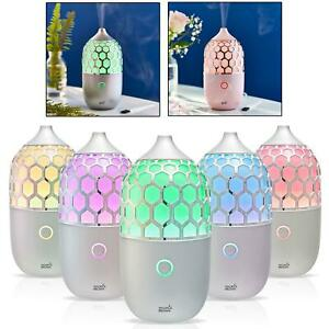 Ultrasonic Aromatherapy Essential Led Colour Changing Oil Diffuser Humidifier