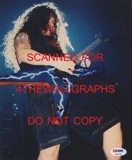 DIMEBAG DARRELL PANTERA SIGNED 8x10 PHOTO PSA COA DEAN COWBOY FROM HELL CFH RARE