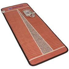 MediCrystal FIR Far Infrared Heating Pad Negative Ion Amethyst Mat Midsize 24x59