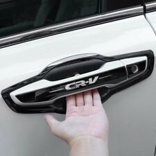 BK Stainless Chrome Car Door Handle Trim Chrome Molding 8p for 2017-18 Honda CRV