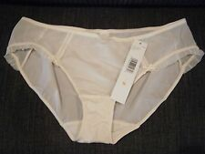 NEW DKNY WOMANS LUMINOUS WINTER WHITE HIPSTER PANTY UNDERWEAR